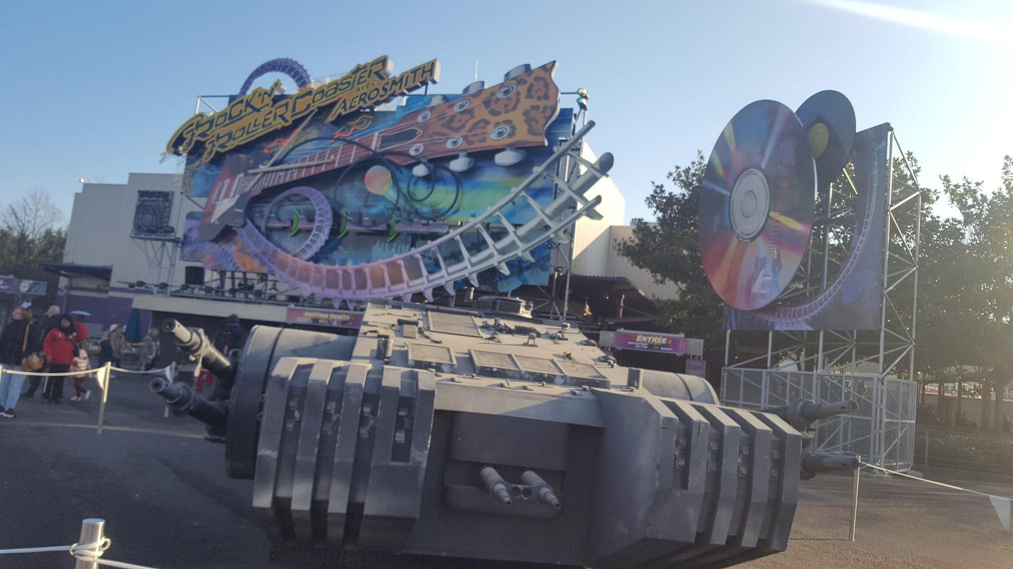 Tank - Backlot - Saison de la force 2018