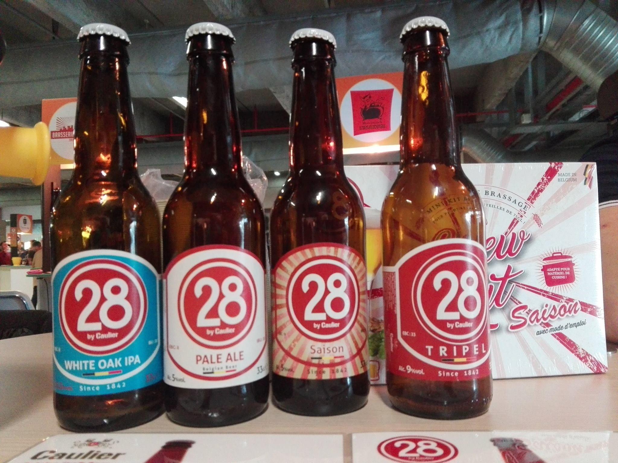 Caulier - Gamme 28 - Planète Bière 2018, Paris