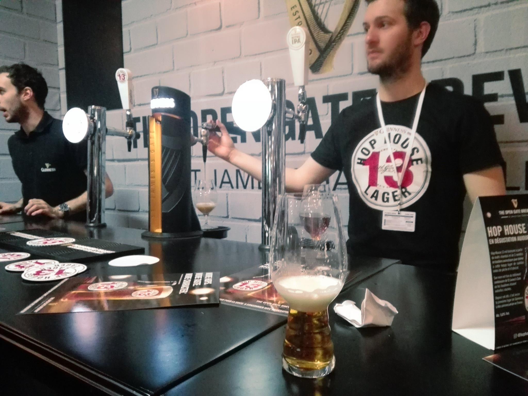 Guinness Hop House 13 Lager - Planète Bière 2018