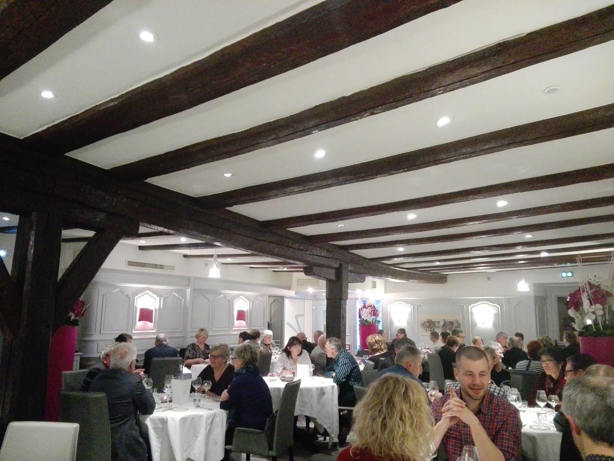 Repas gastronomique à Westhalten - Auberge du cheval blanc