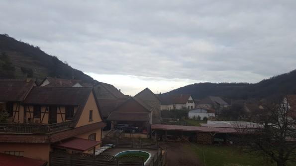 Vue sur Westhalten (Alsace)