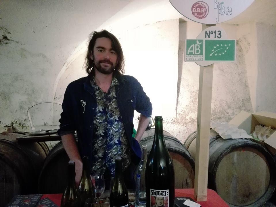 Sylvère Trichard - Vigneron - Bien boire en Beaujolais