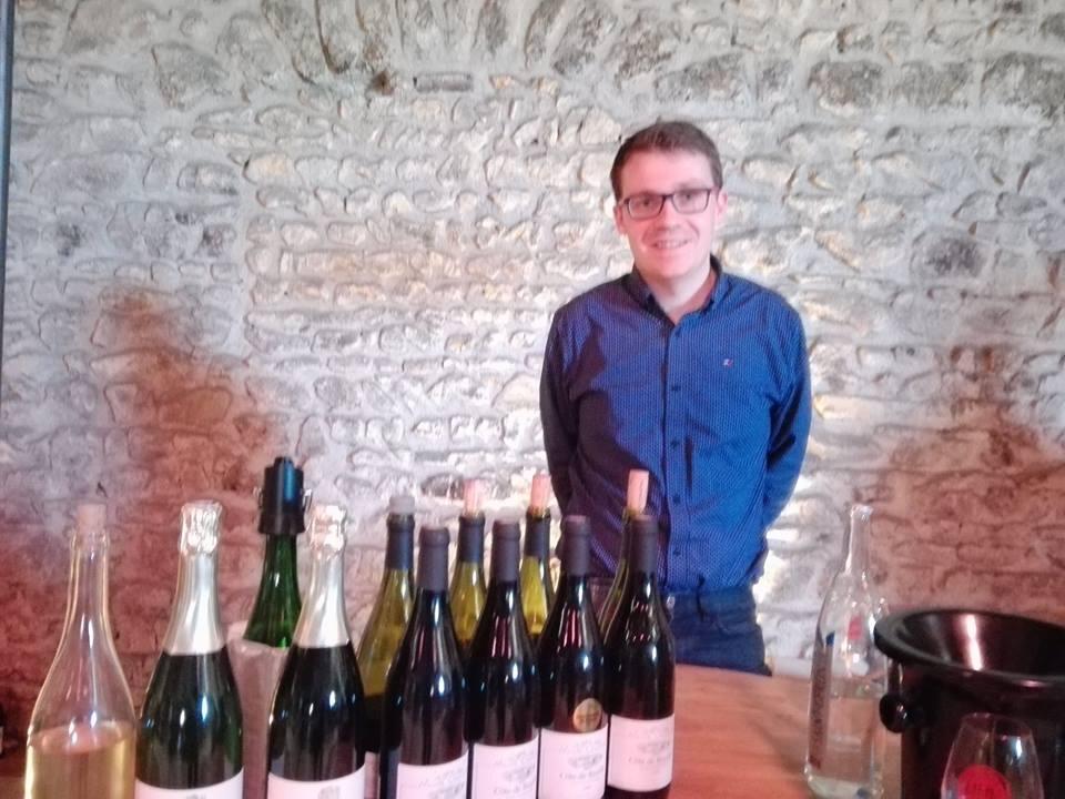 Romain Chanrion - Vigneron - Bien boire en Beaujolais