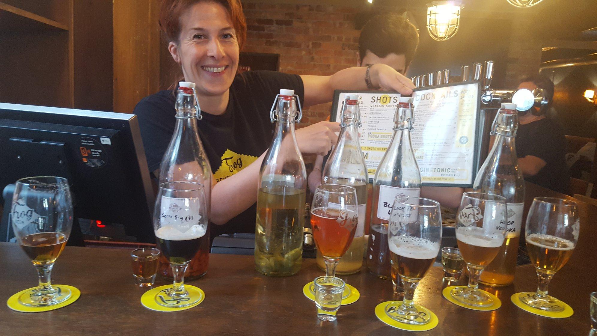 Pairing de spiritueux et bières - FrogPubs