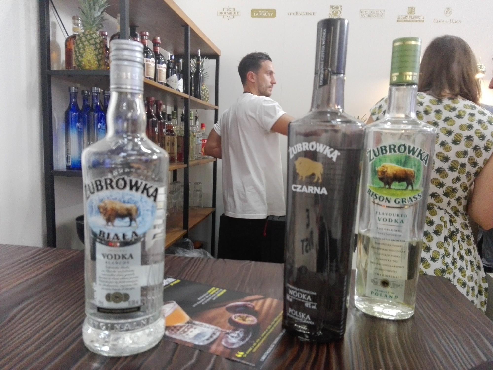 Vodka Zubrowka - Cocktails Spirits 2018