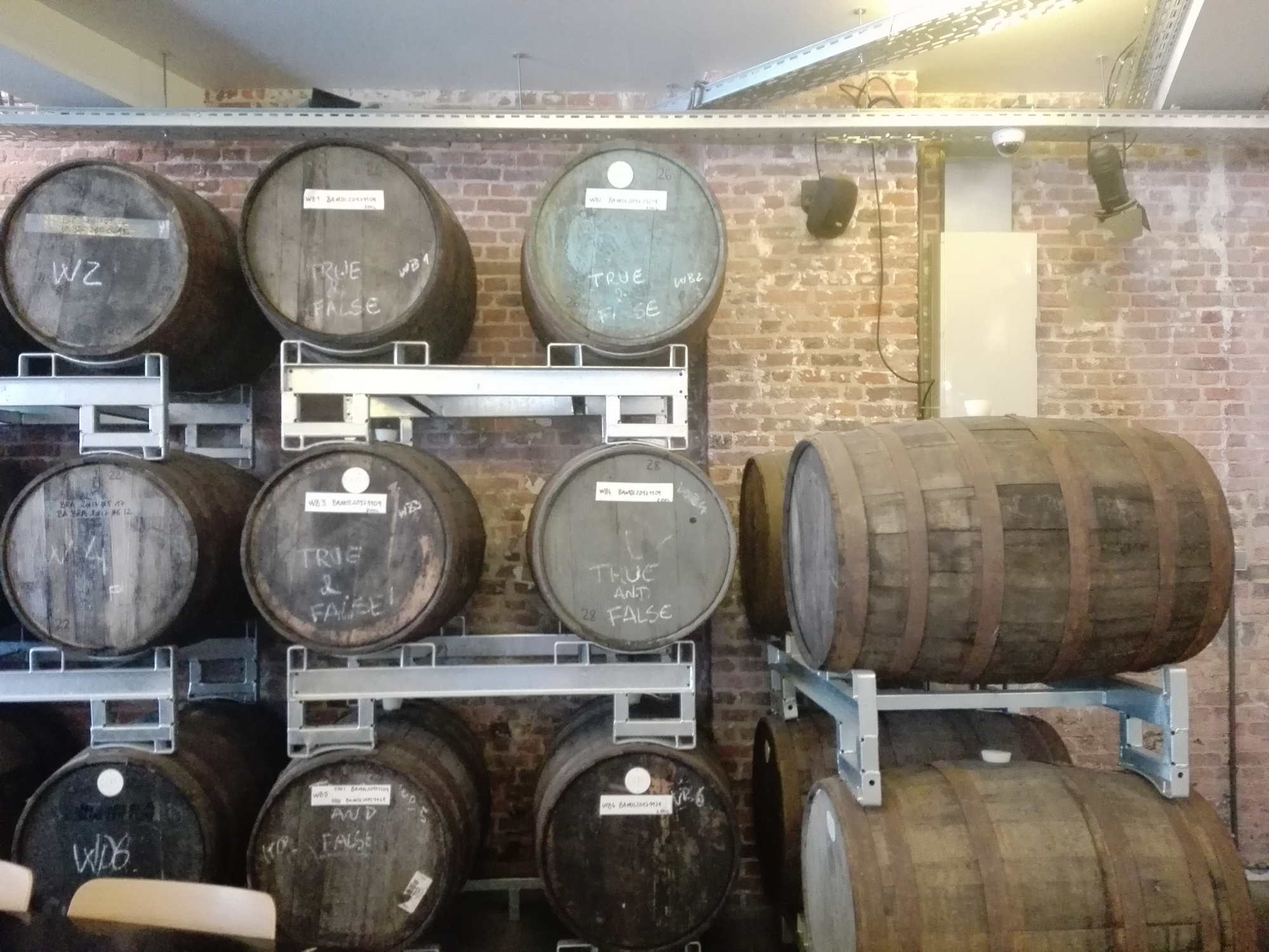 Brussels Beer Project - fûts