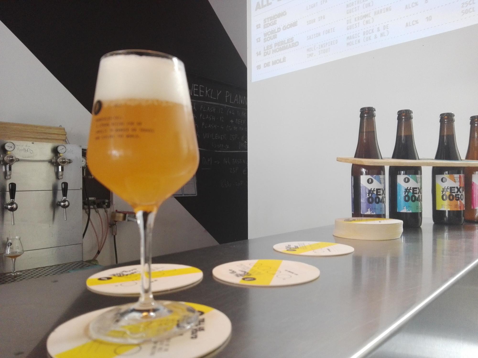 Brussels Beer Project - Dégustation de bières