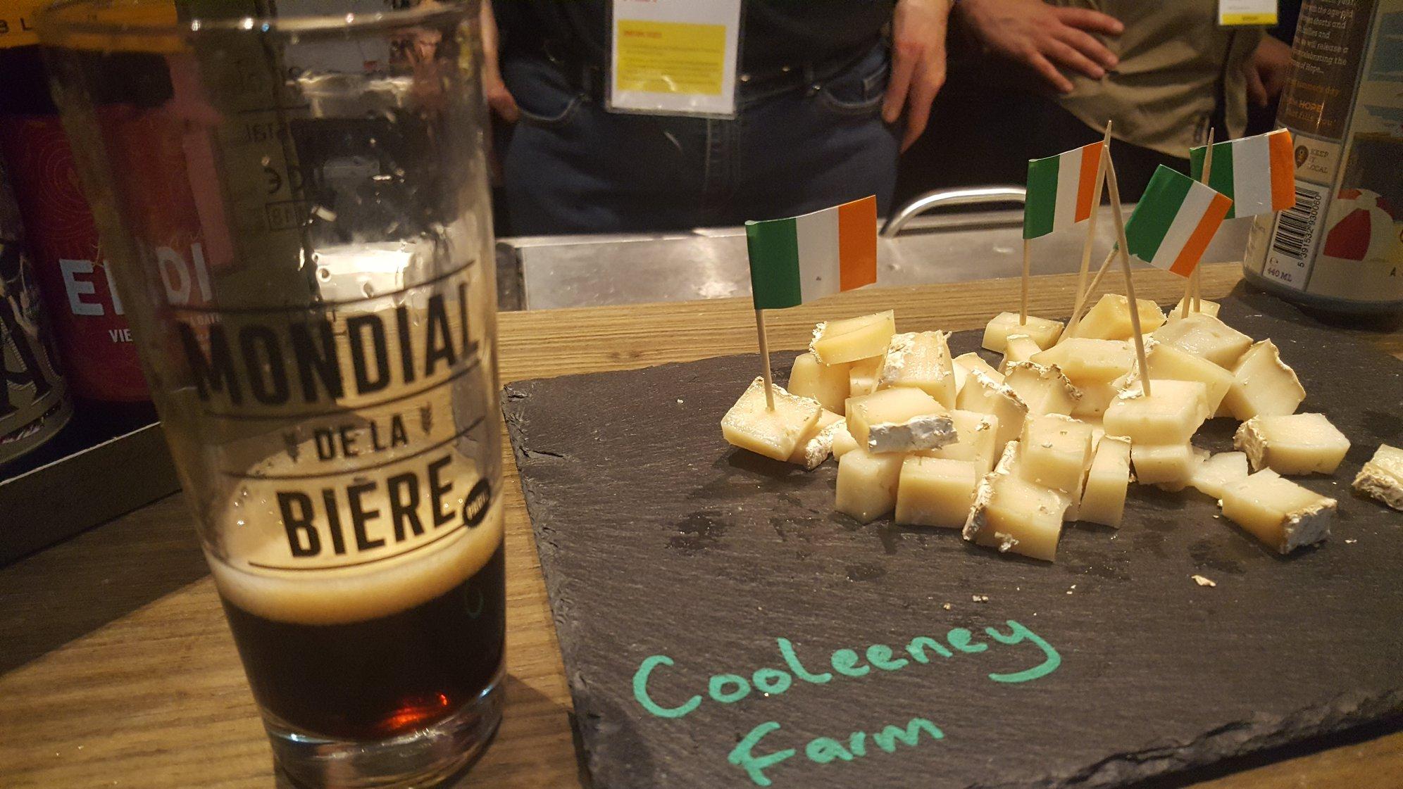 Irlande : bière et fromage - Mondial de la bière 2018