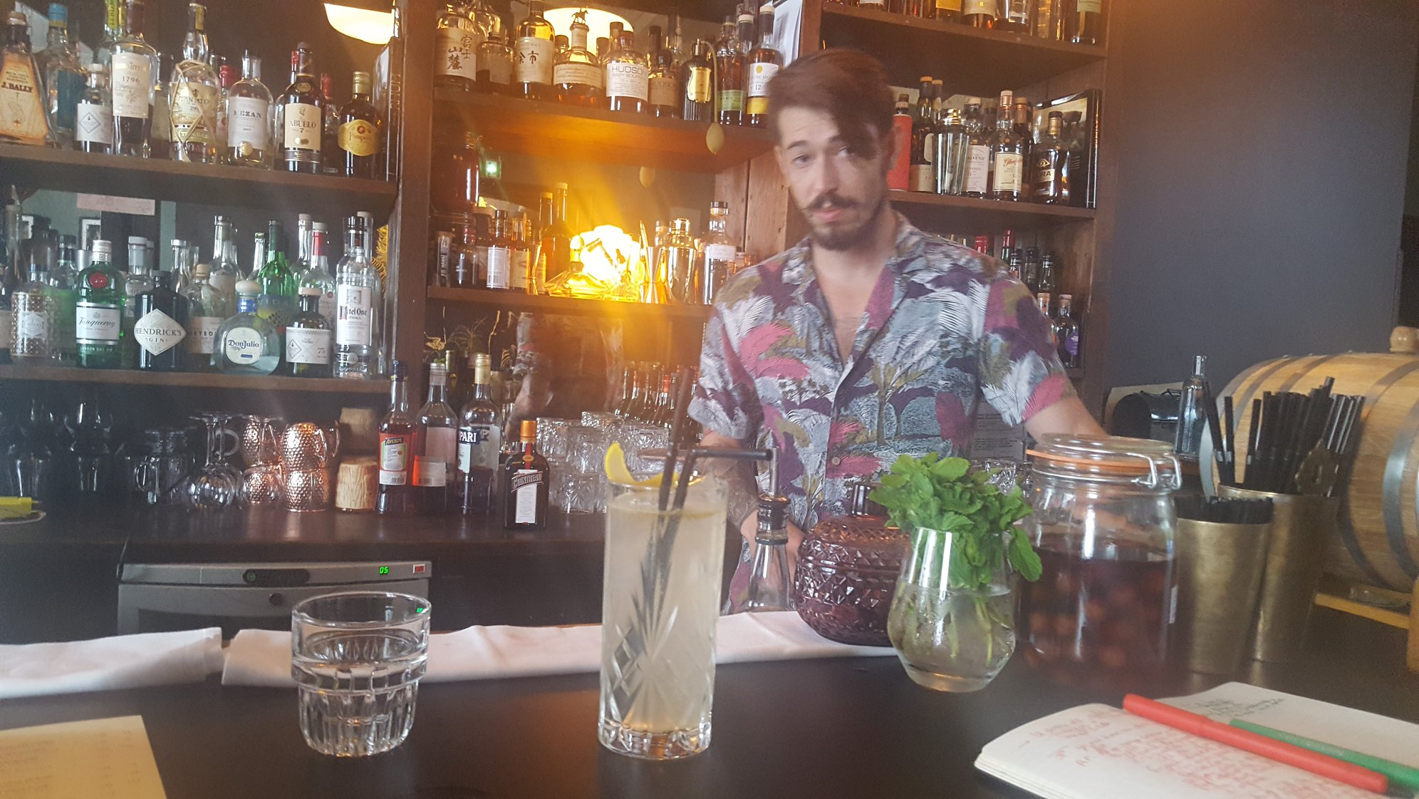 Bar Le 1905 - Cocktail gin