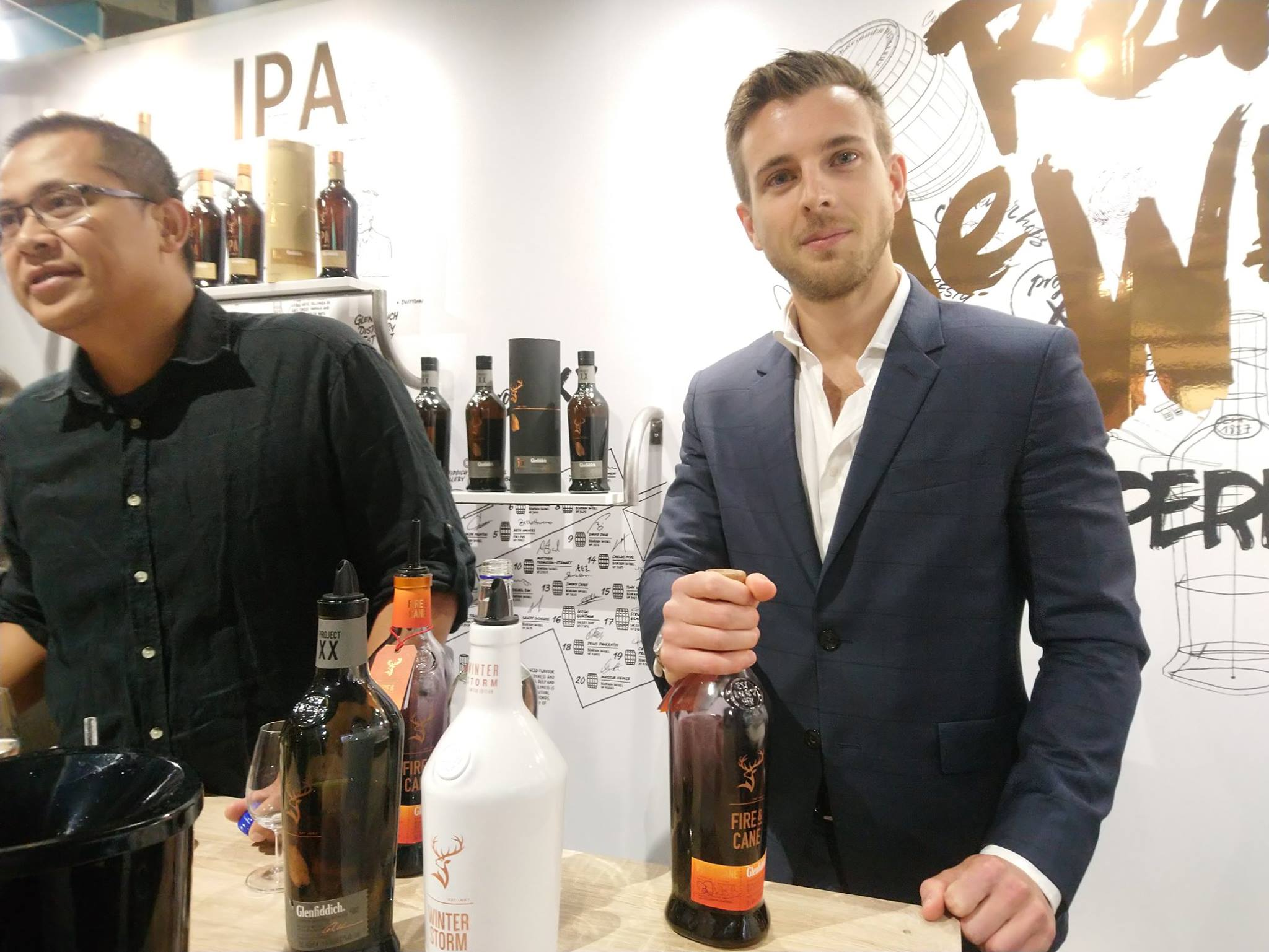 Glenfiddich - Fire & Cane - Whisky live 2018
