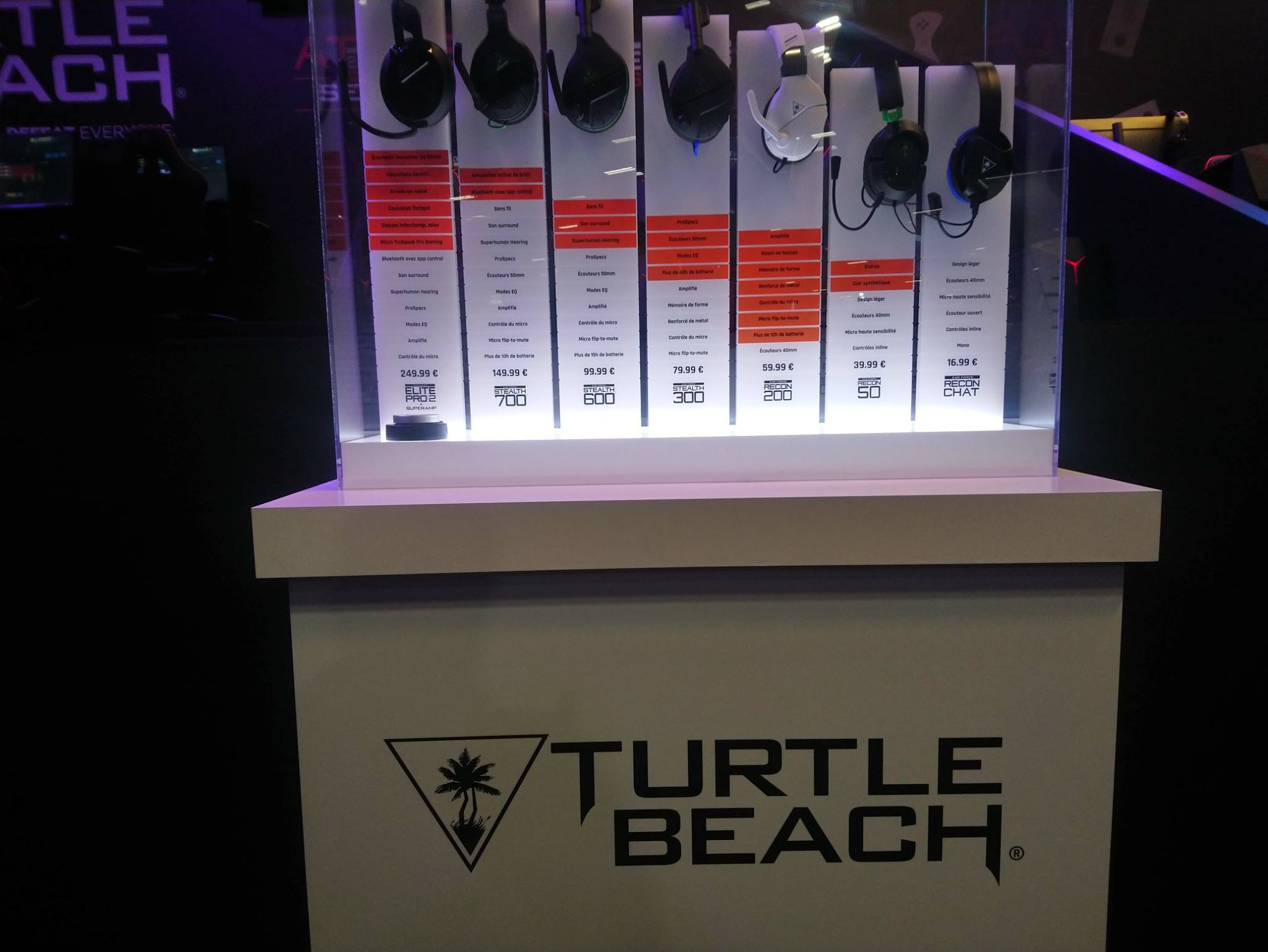Turtle Beach - Paris Games Week 2018