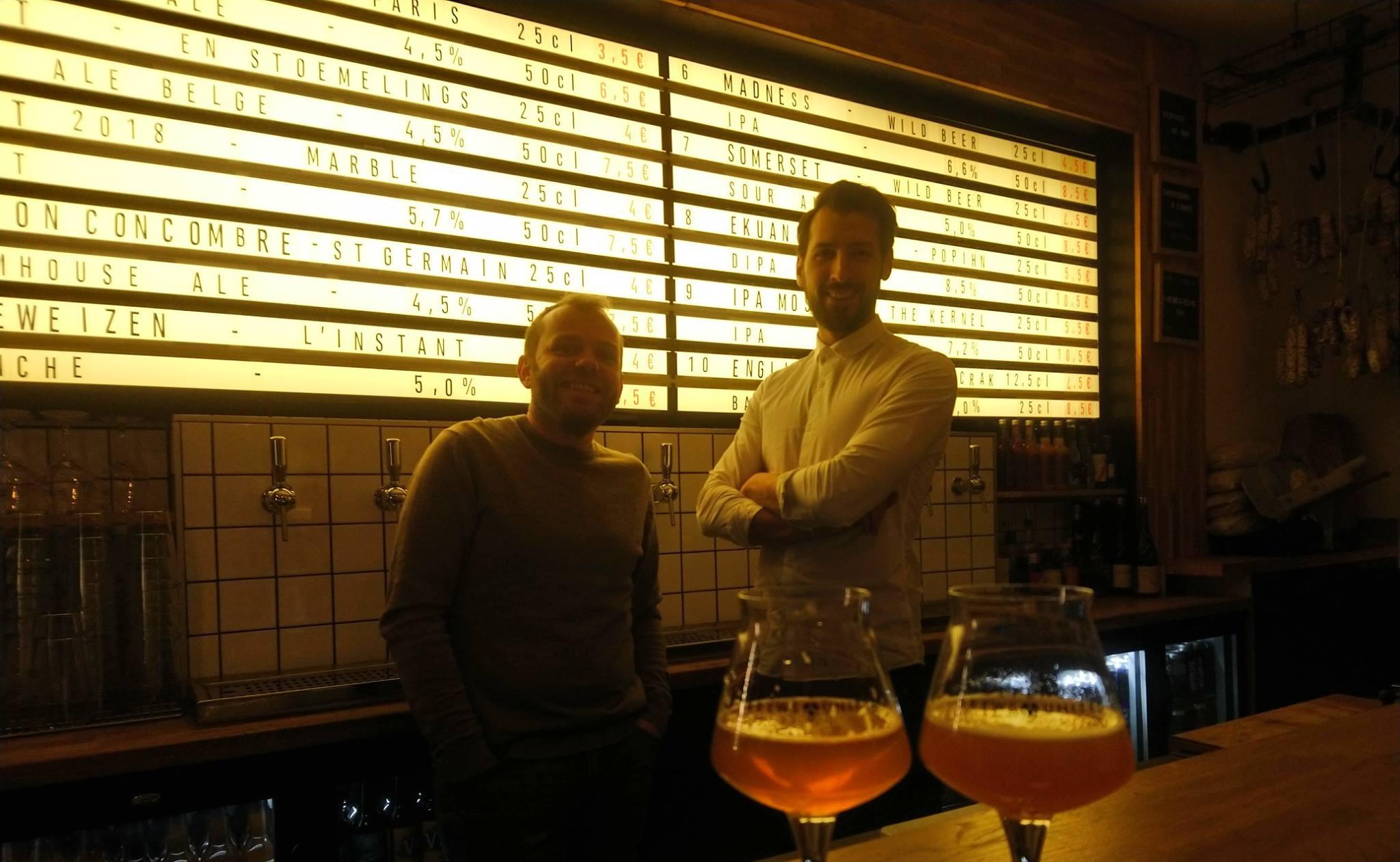 Olivier Deval et Kévin Lieurade - Bar IBU - Paris