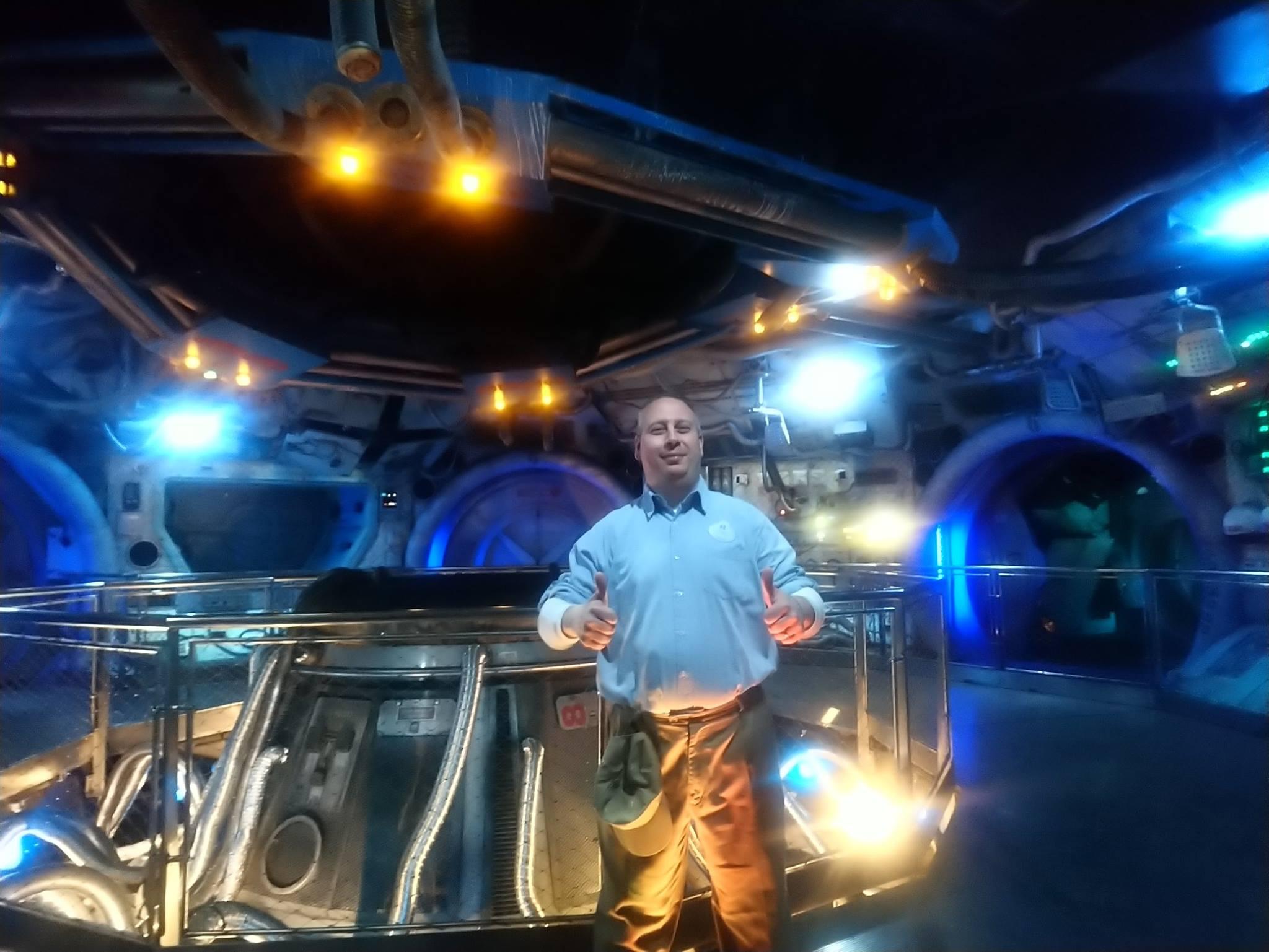 Armageddon à Walt Disney Studios - Cédric, cast member