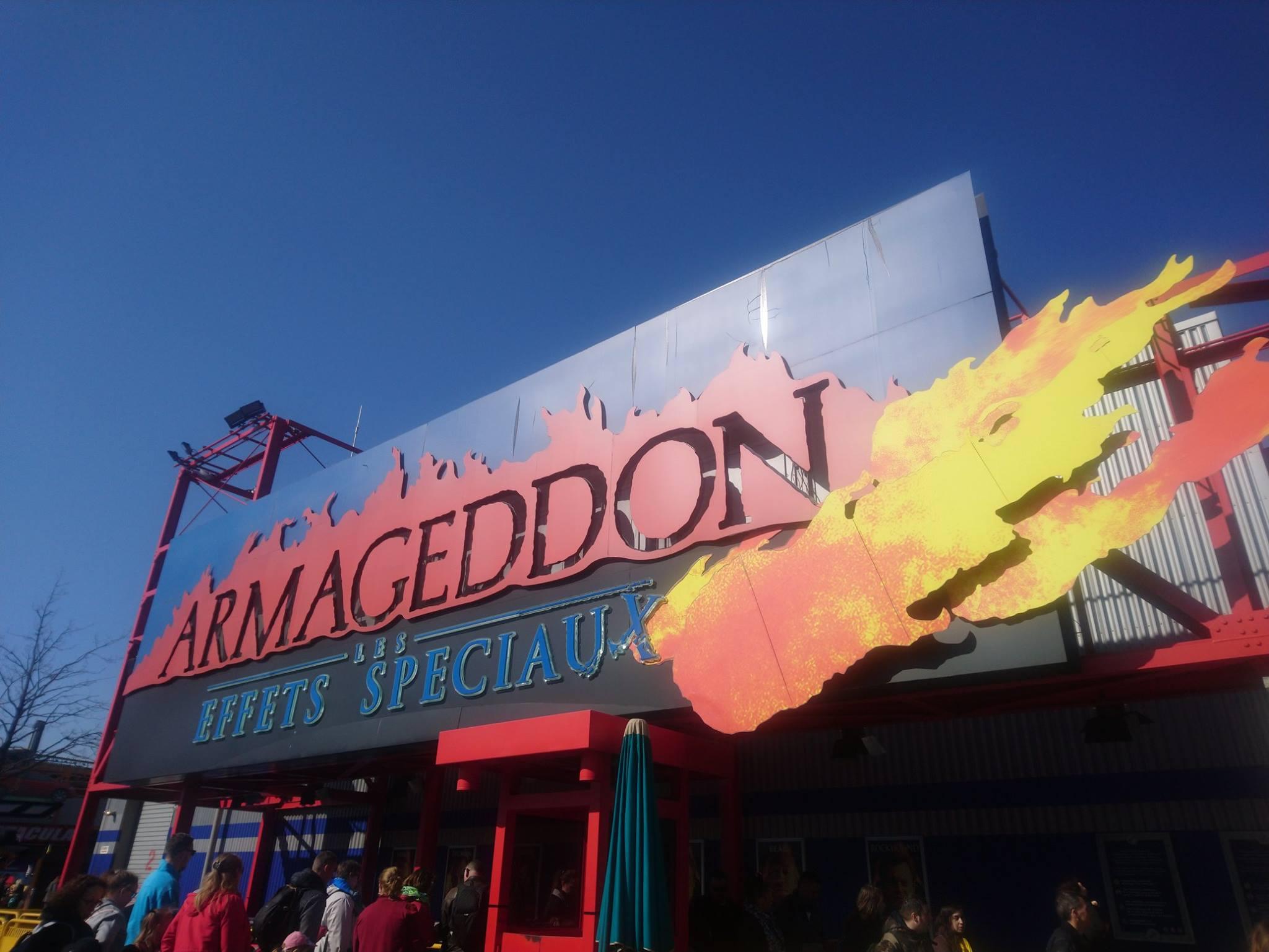 Armageddon: les effets spéciaux - Disneyland Paris