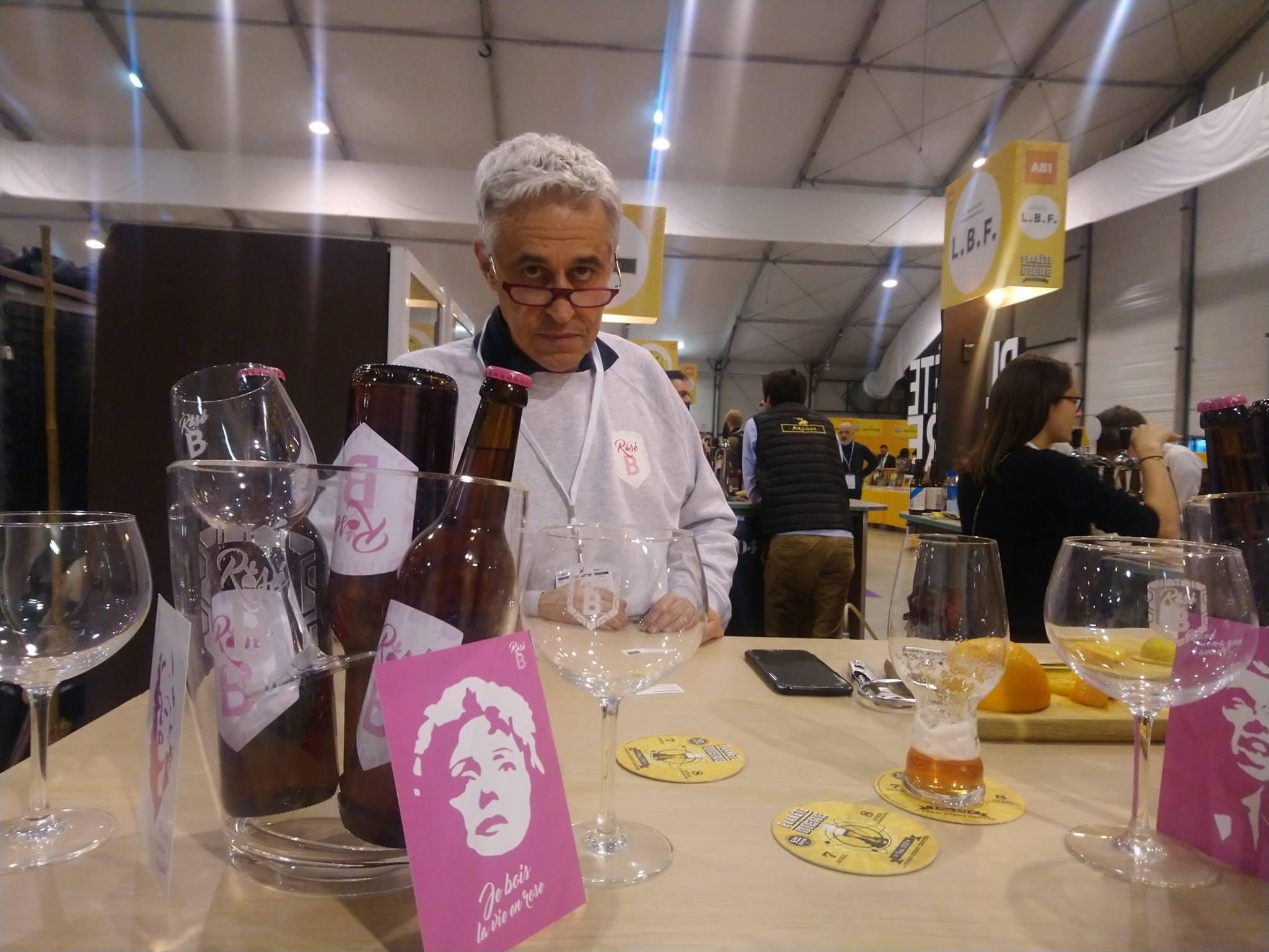 Bière Le Rosé du B - Planète Bière 2019