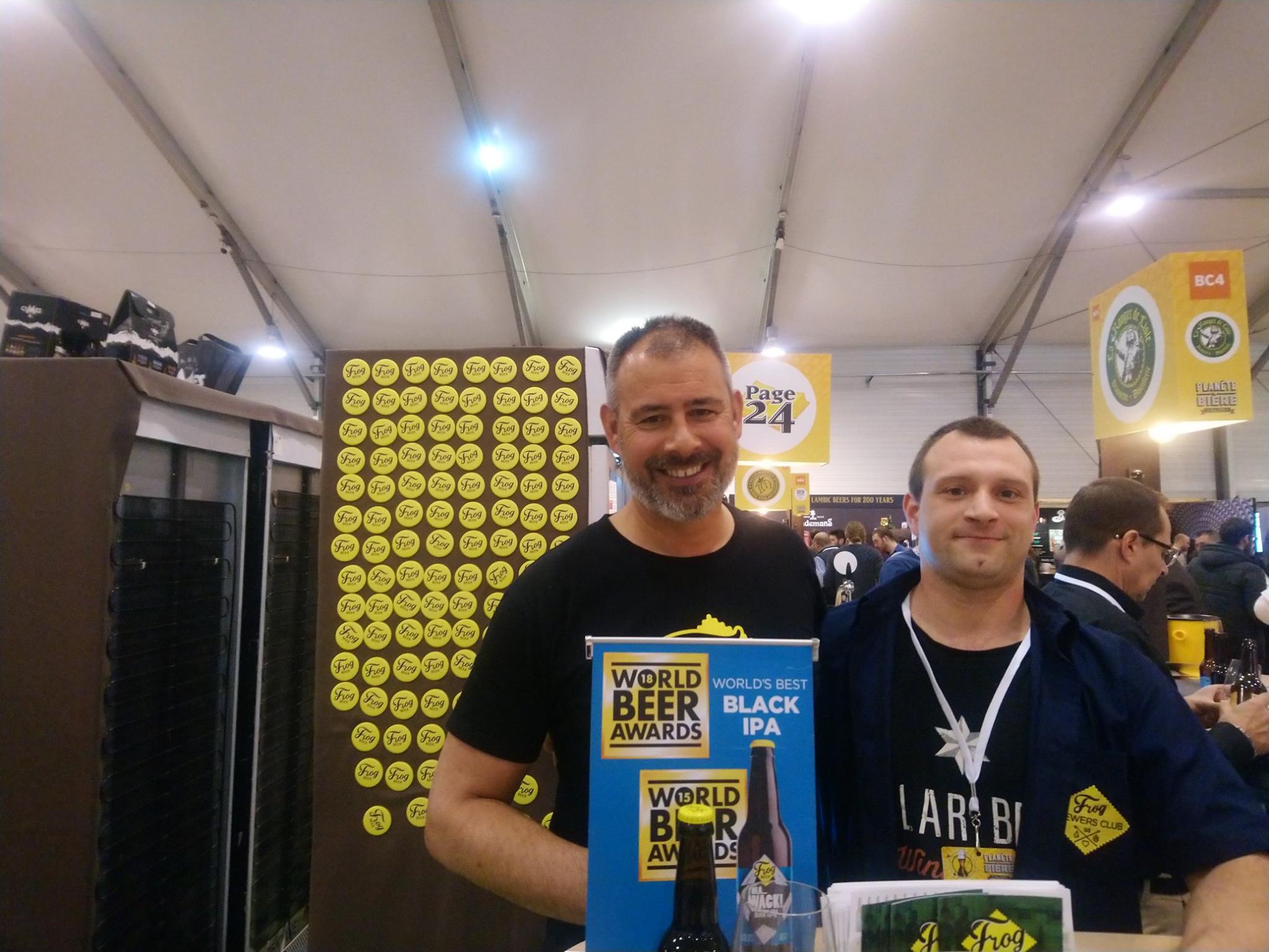 Paul Chantler - Fondateur de Frog - Planète Bière 2019