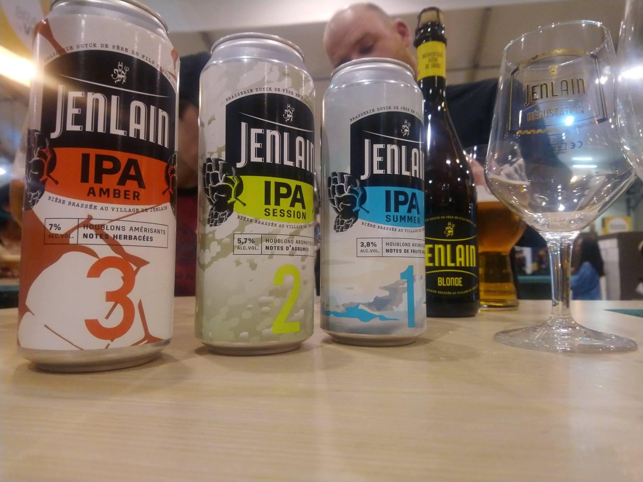 Nouvelle gamme IPA 1,2,3 de Jenlain