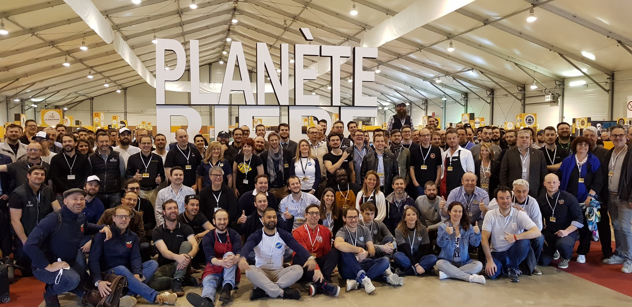 Les brasseurs et exposants de Planète Bière 2019 au Paris Event Center