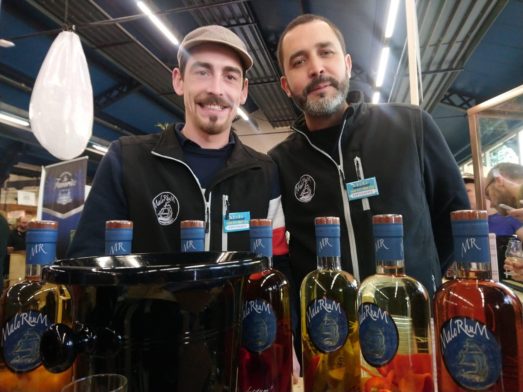 Rhum fest 2019 - Lucas Fisk et Olivier Cruz, MaloRhum