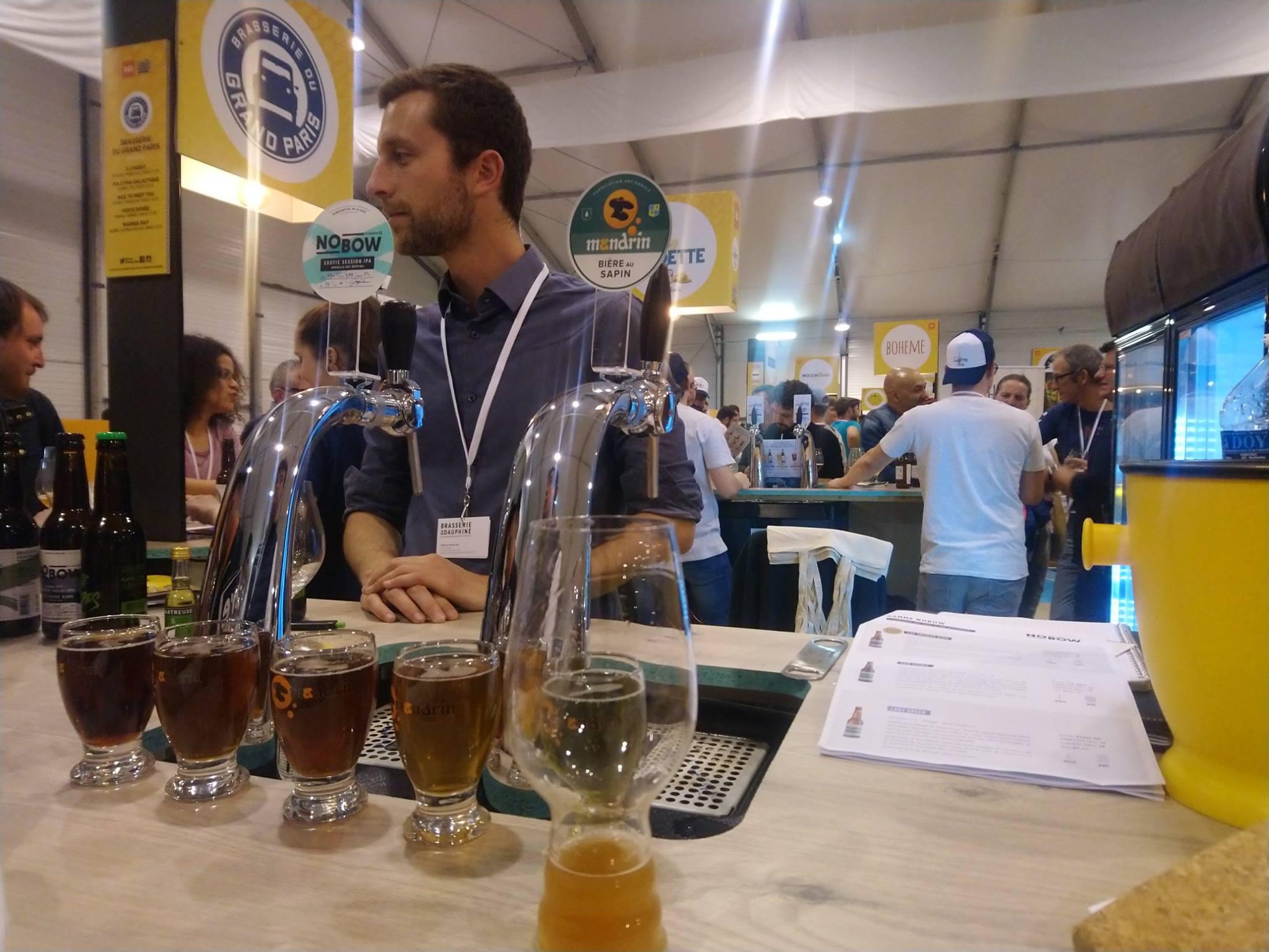 Brasserie du Dauphiné - Verte des Alpes - Planète Bière Paris 2019