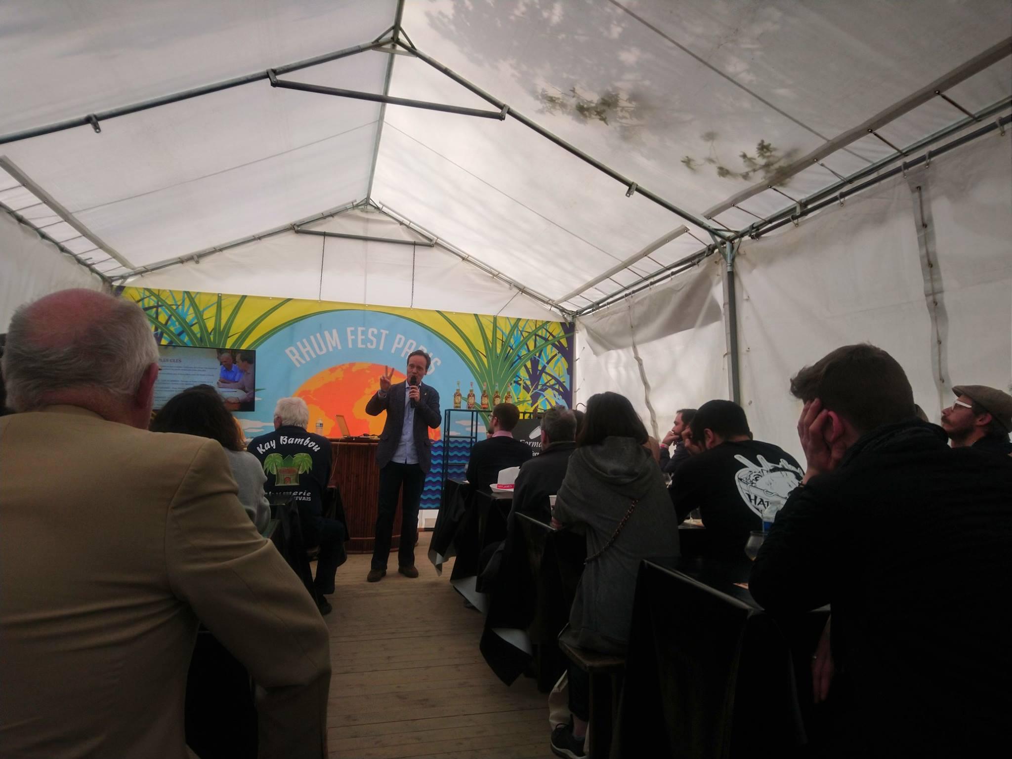 Masterclass Alexandre Gabriel - Plantation - Ferrand - Rhum Fest 2019