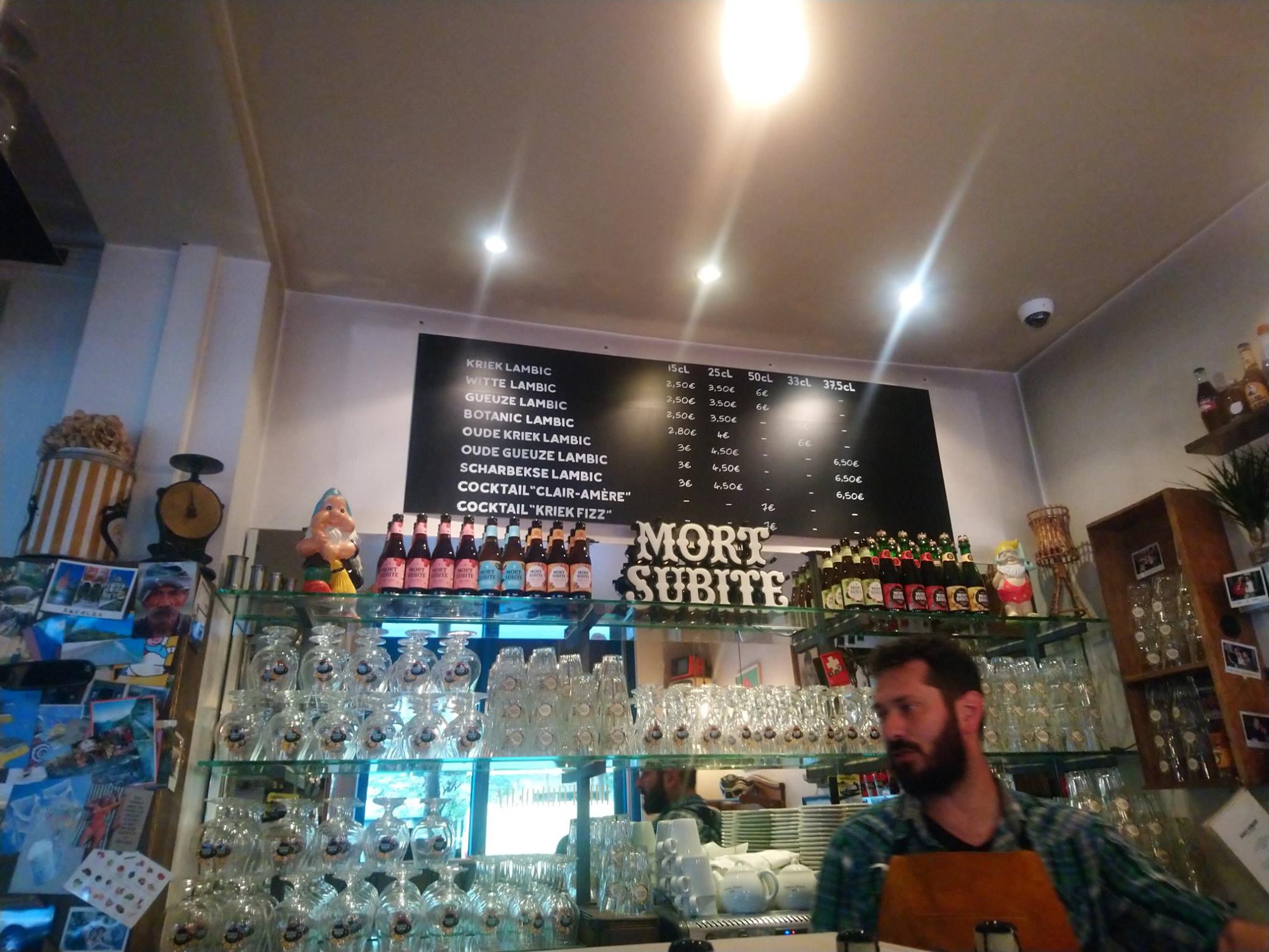 Le bar à lambics - Mort Subite - Paris - 2019