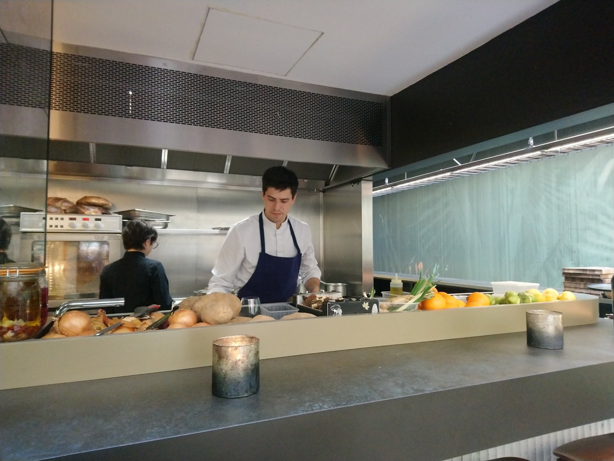 Restaurant Terra, à Paris - Cuisinier dans le Marais