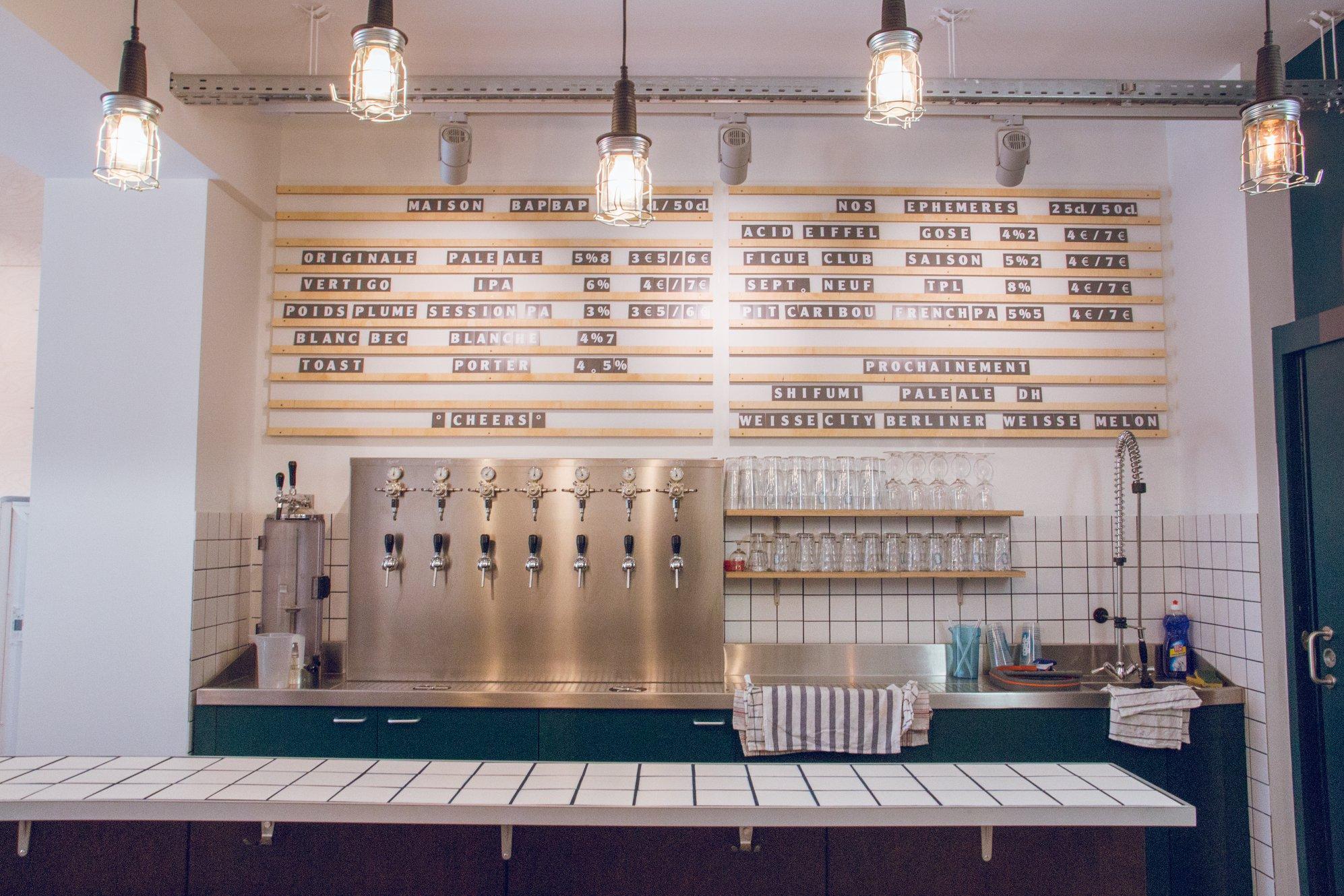 Maison BapBap - Taproom brasserie artisanale Paris 11eme arrondissement - Bar à bières