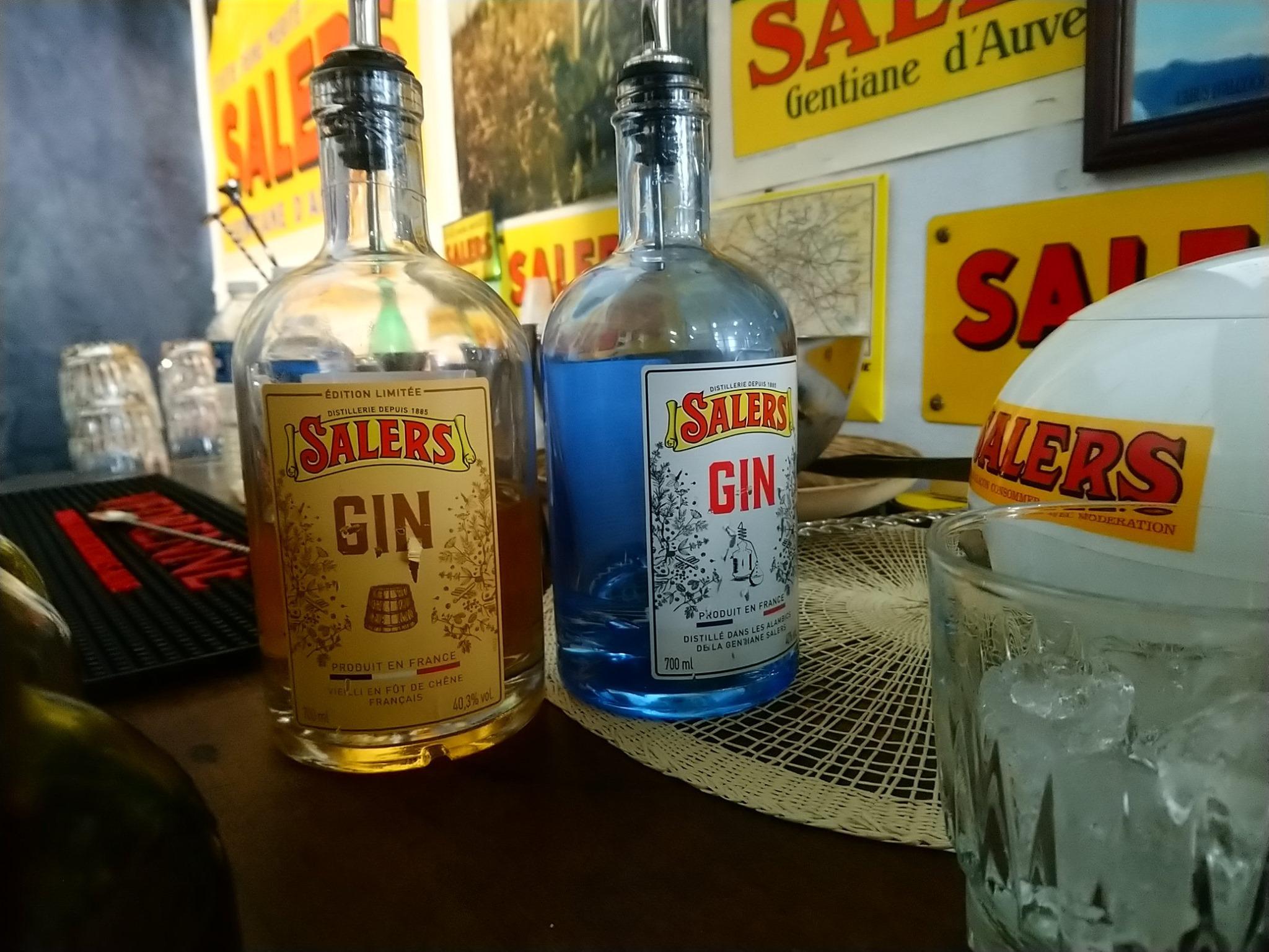 Gin Salers - Pagès Védrenne - Cocktails Spirits 2019
