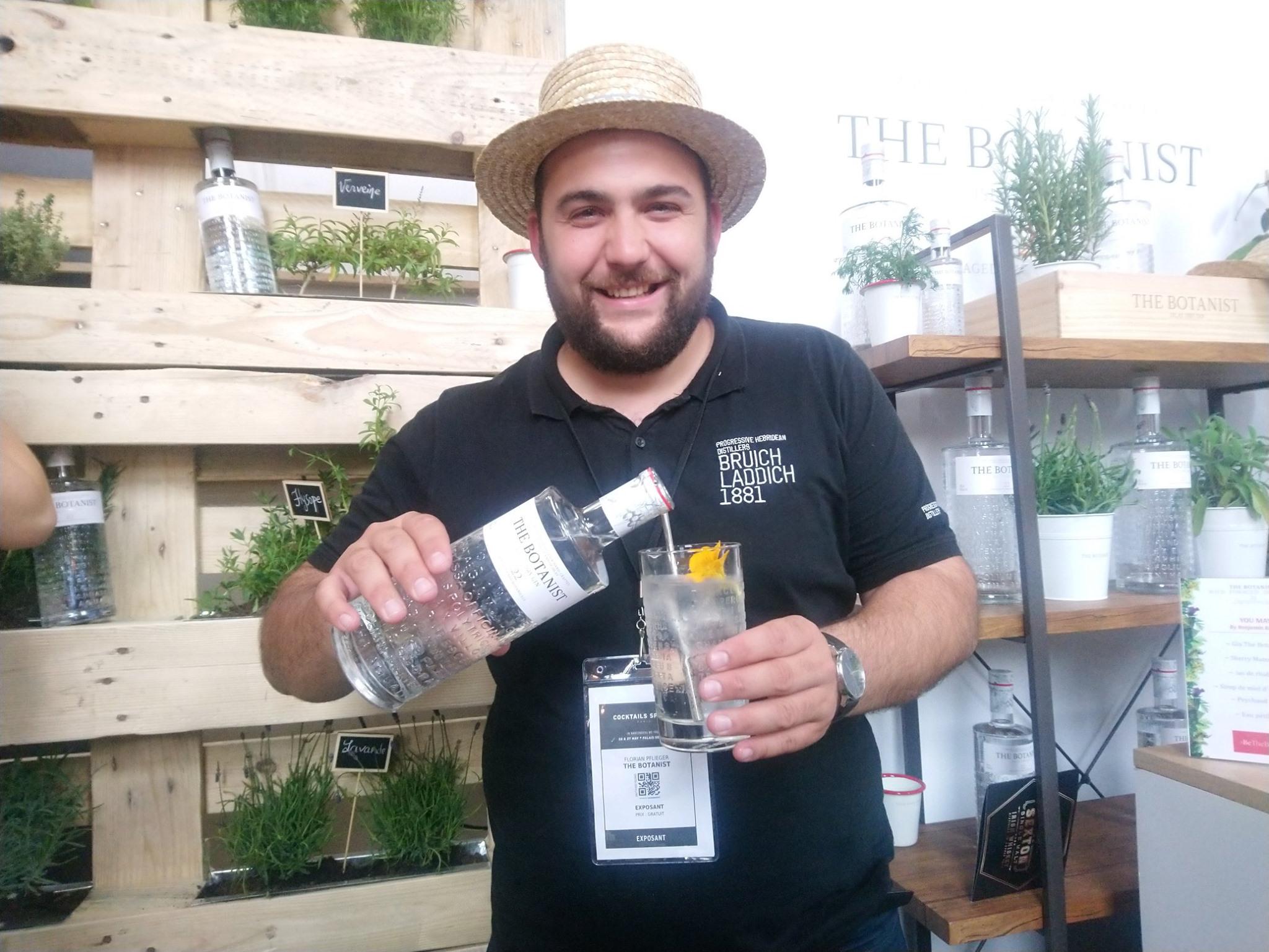 Florian Pflieger - Cocktails Spirits 2019