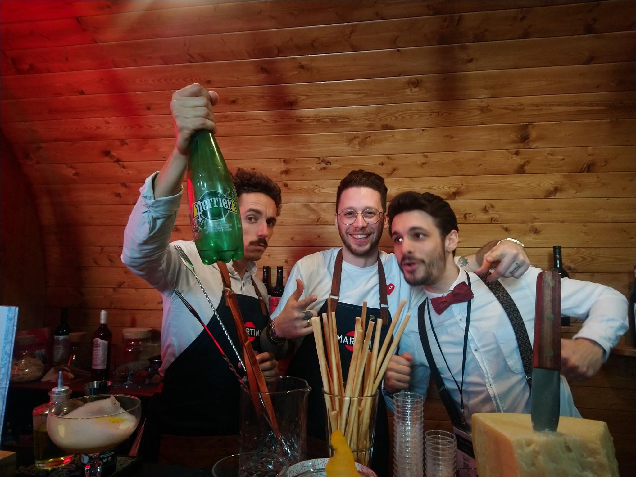Cédric Moreau, Nicolas Goradesky et Antimo Andolfi- Martini - Cocktails Spirits 2019
