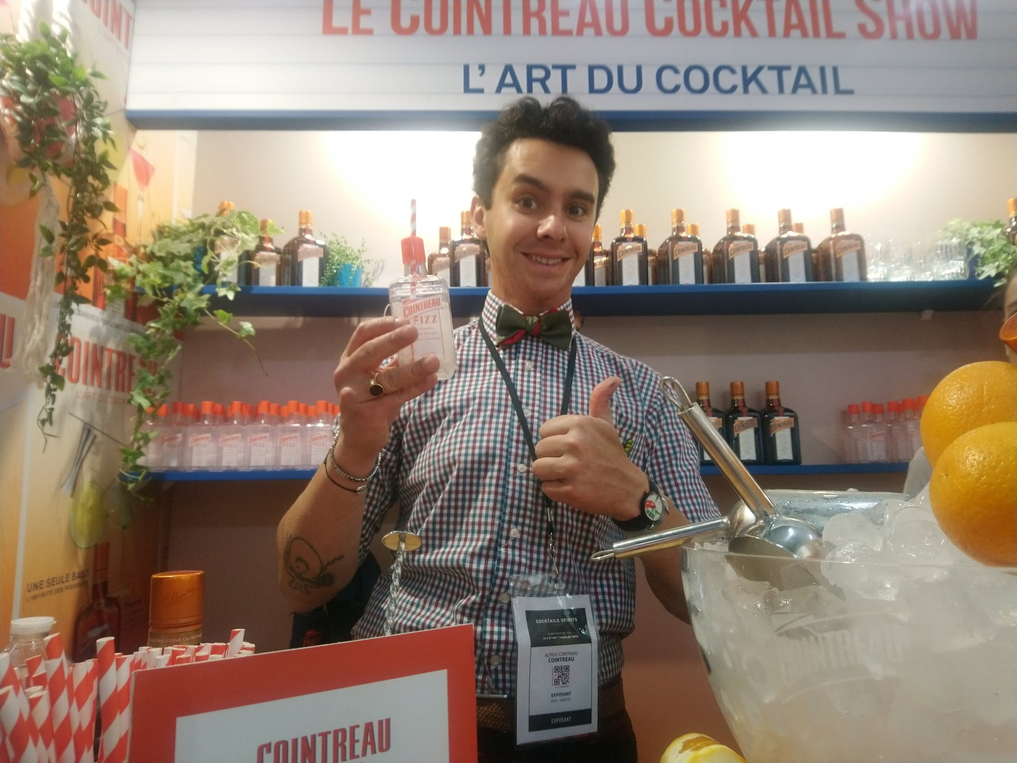 Alfred Cointreau - Cocktails Spirits 2019