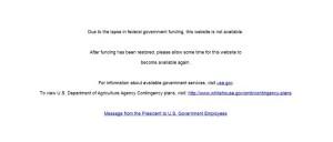 USDA-shutdown