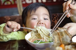 Chine-bebe-alimentation