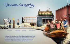 Disneyland Paris : faire rêver c'est un métier, campagne marque employeur