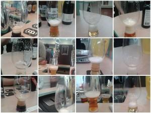 Dégustations de bière au salon, dimanche 29 mars.