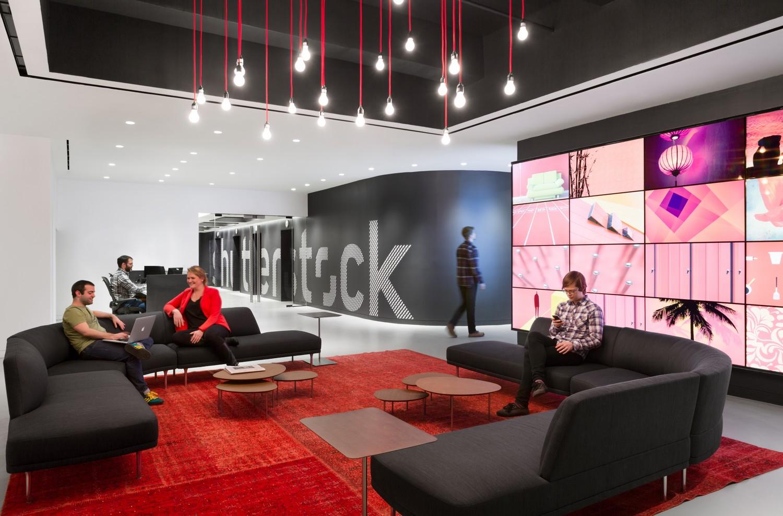 Bureaux de Shutterstock