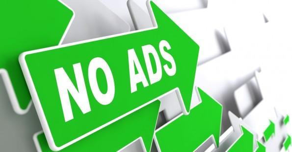 No ads : pas de publicité