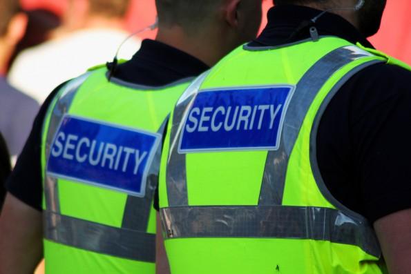 Agents de sécurité au Royaume-Uni