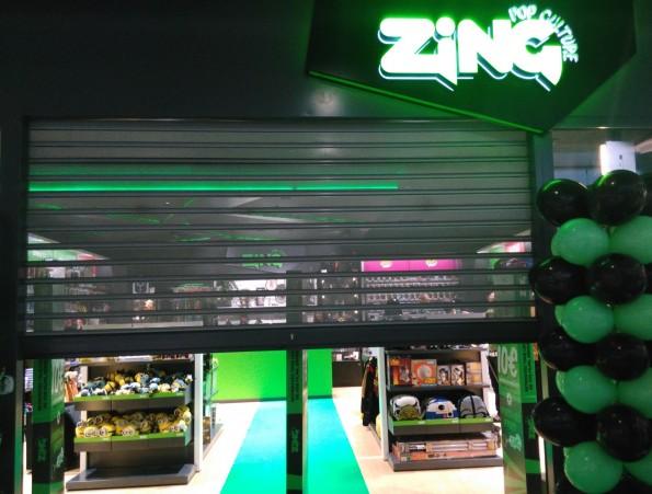 Le premier magasin européen Zing Pop Culture, à Belle Epine.