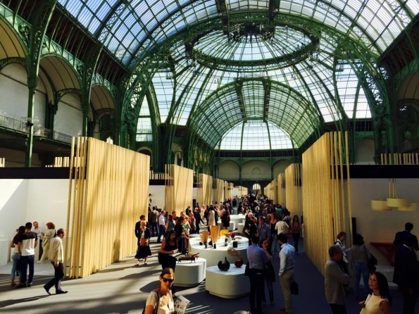 Le salon Révélations, au Grand Palais.