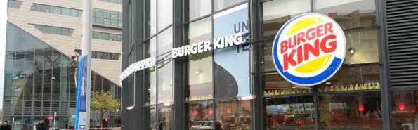 Le restaurant Burger King du centre Confluence, à Lyon.
