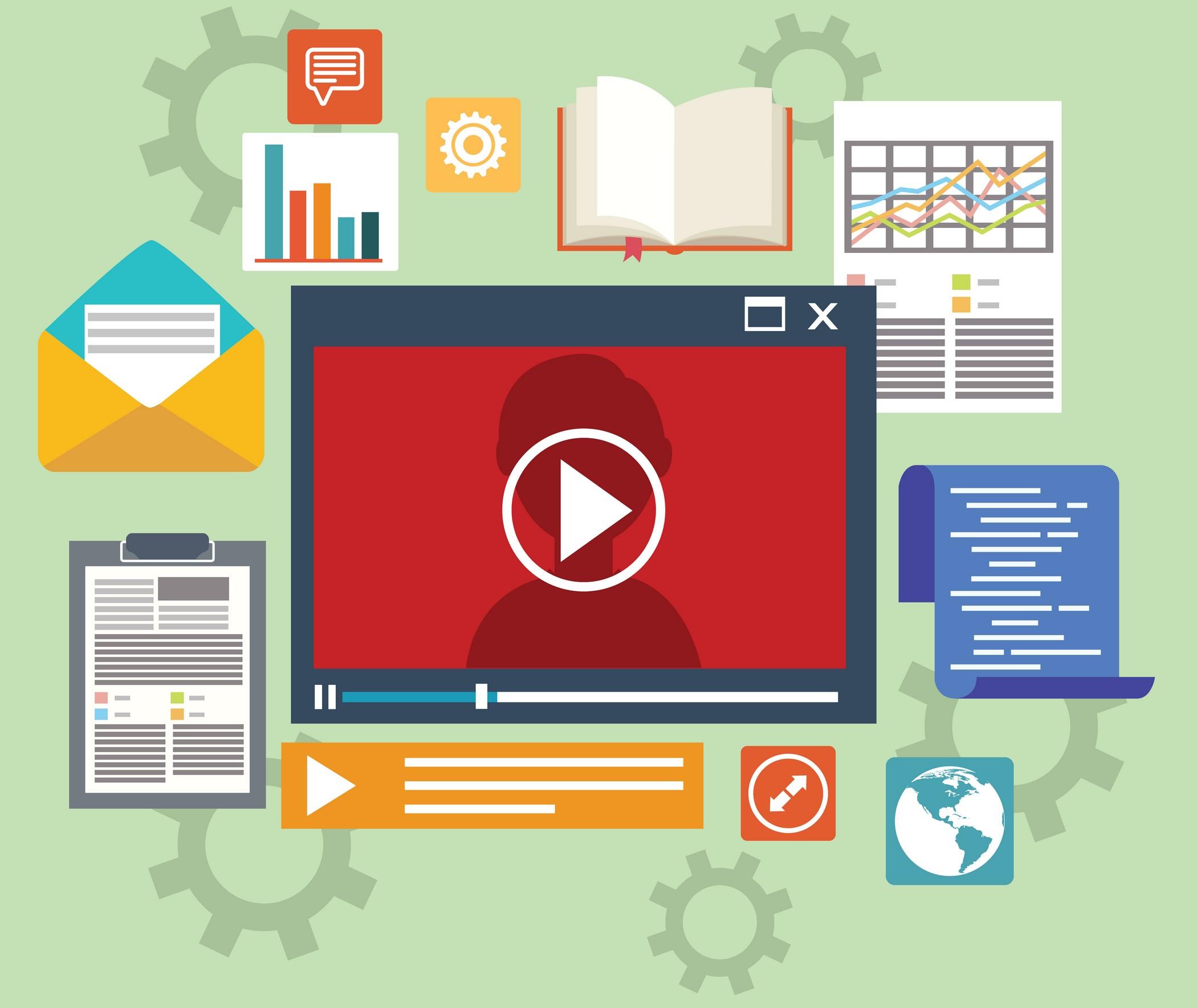 Formations digitales : vidéo, texte, son