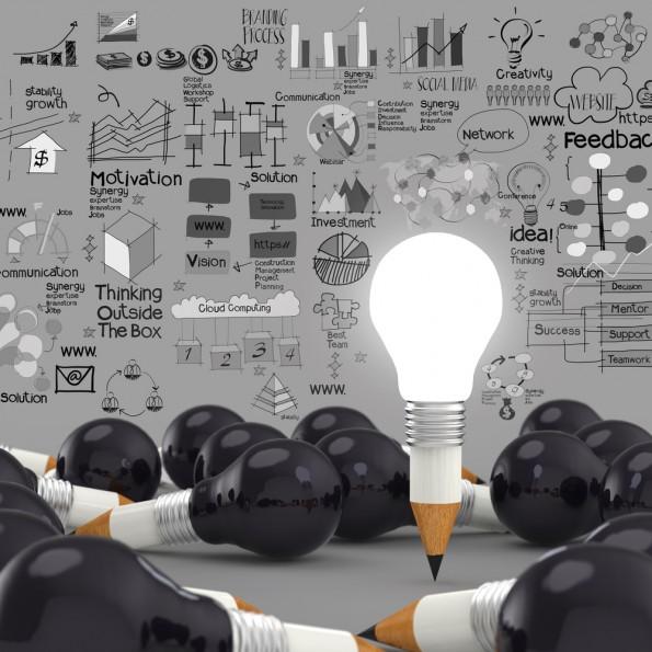 Innovation concept en entreprises