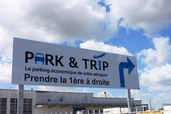 Park and Trip  : parking aéroportuaire