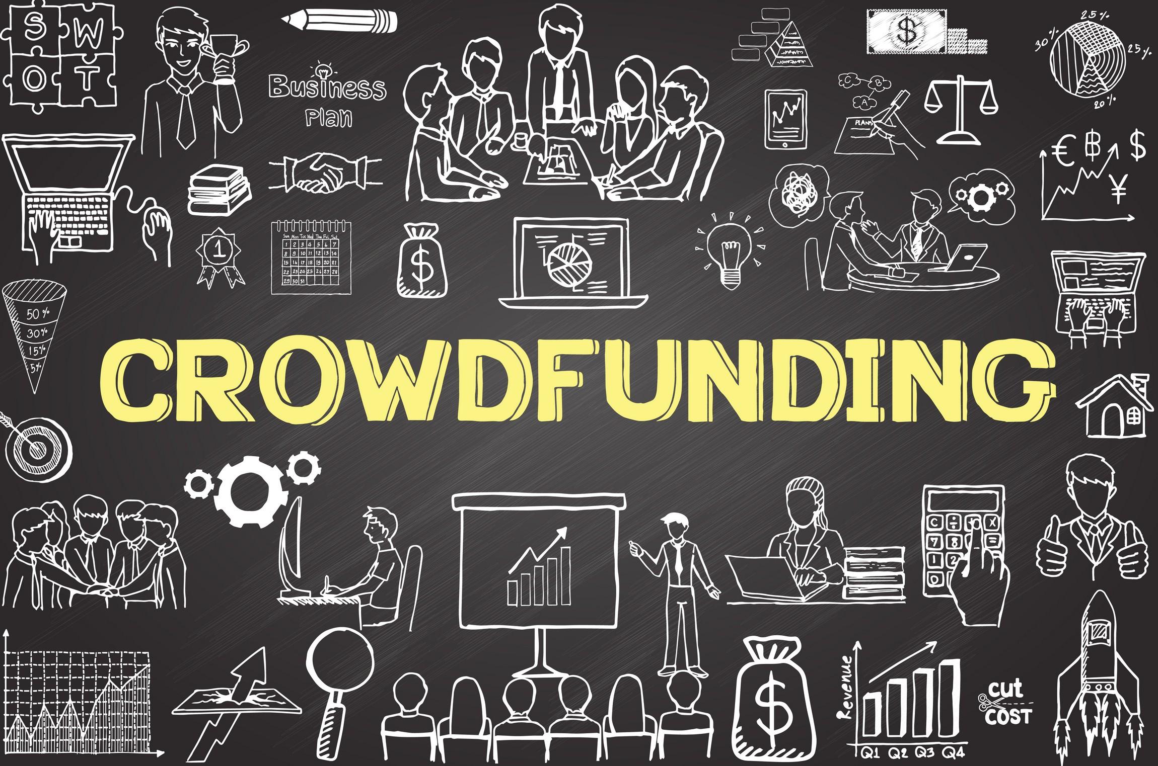Crowdfunding doodles