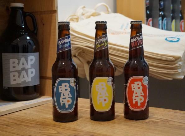 Bières BapBap - Brassées à Paris, bues à Paris