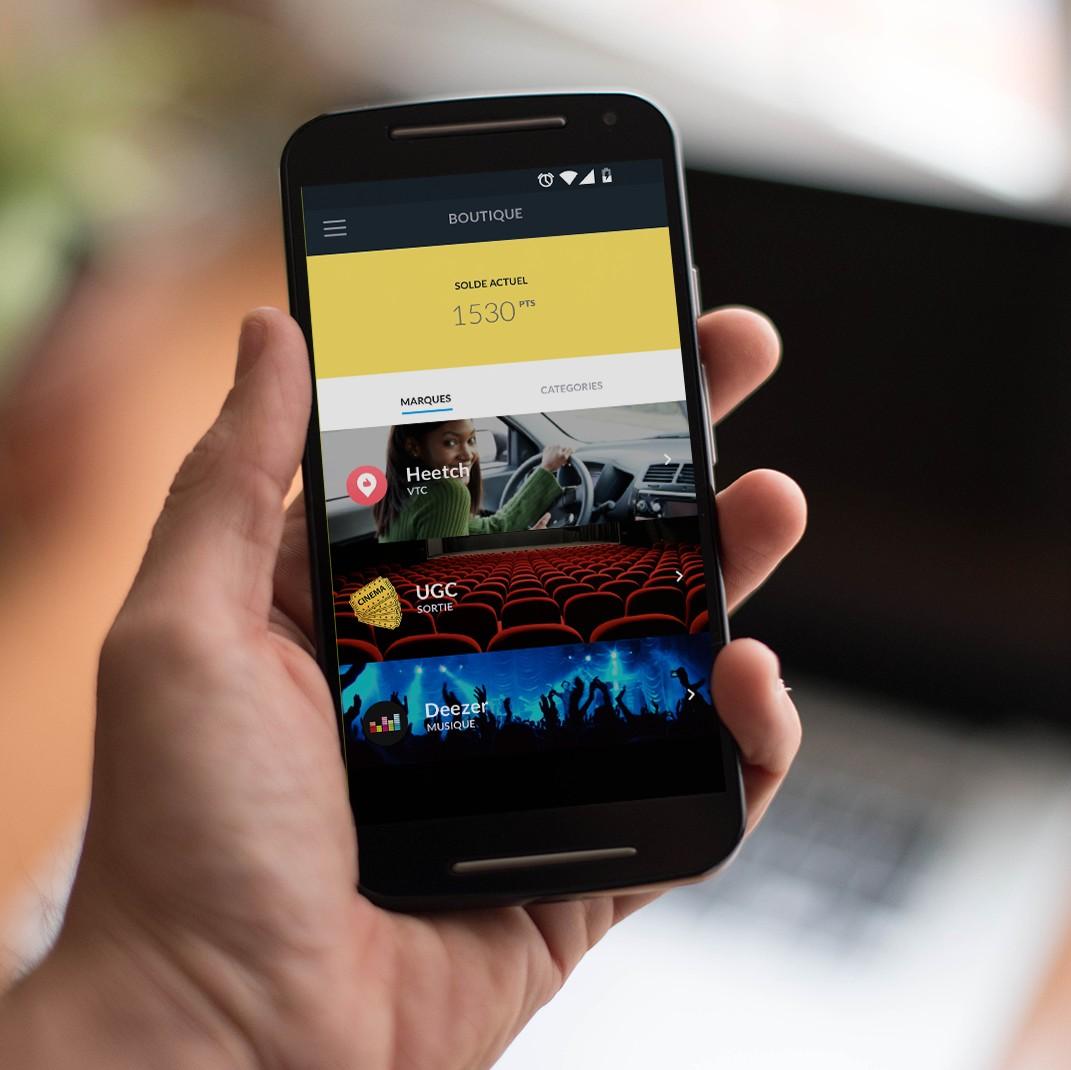 Application mobile Swiper