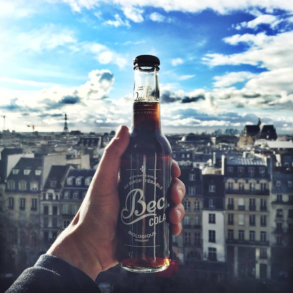 Bec Cola : soda au sirop d'érable - Montreal - Paris