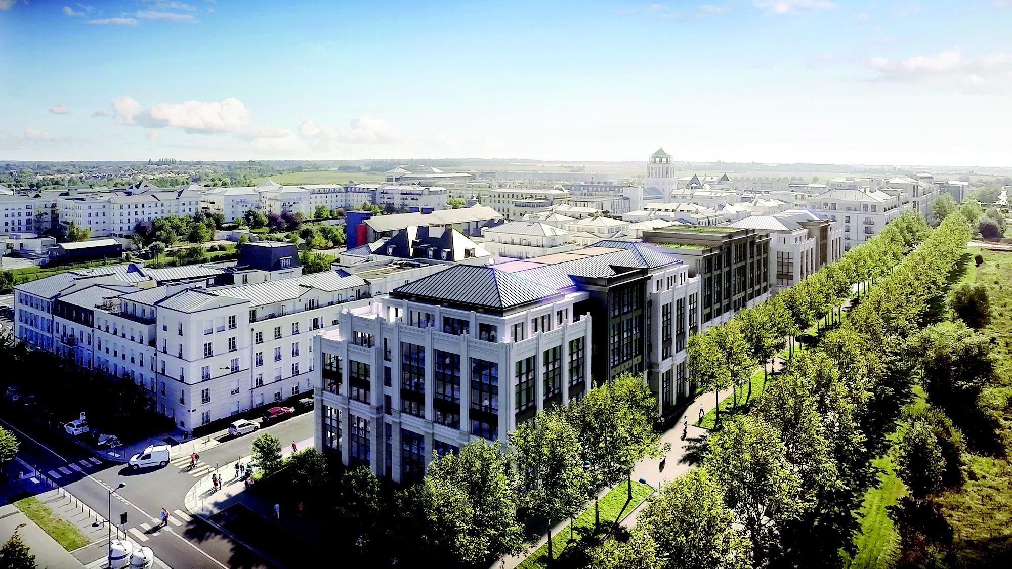 L'immeuble de bureaux Bellini, à Val d'Europe